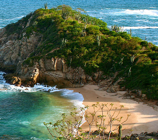 hotel bahia huatulco mexico beach sea ocean view