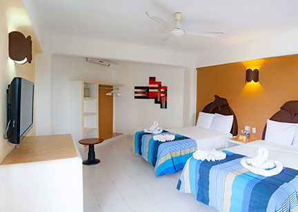 hotel bahia huatulco mexico bay room double relax group