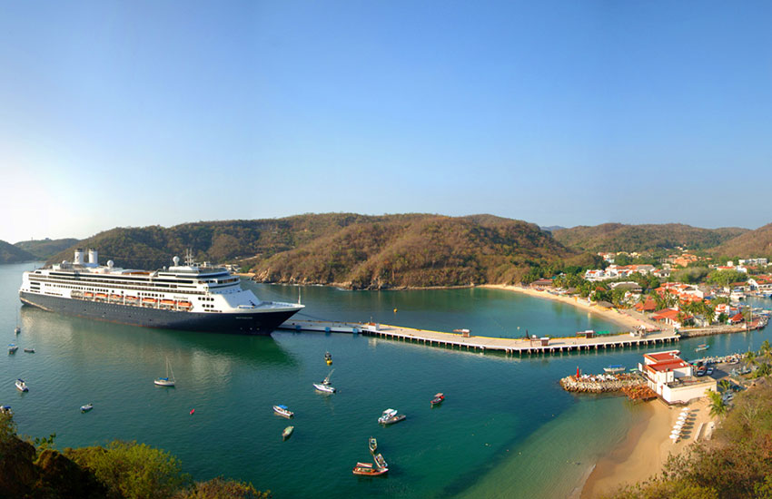 hotel bahia huatulco mexico beach vacations cruise boat travel