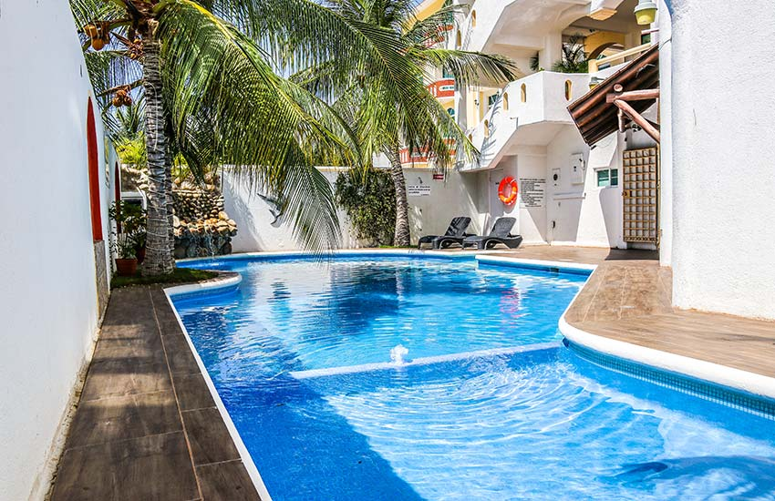hotel bahia bay huatulco mexico beach swimming pool